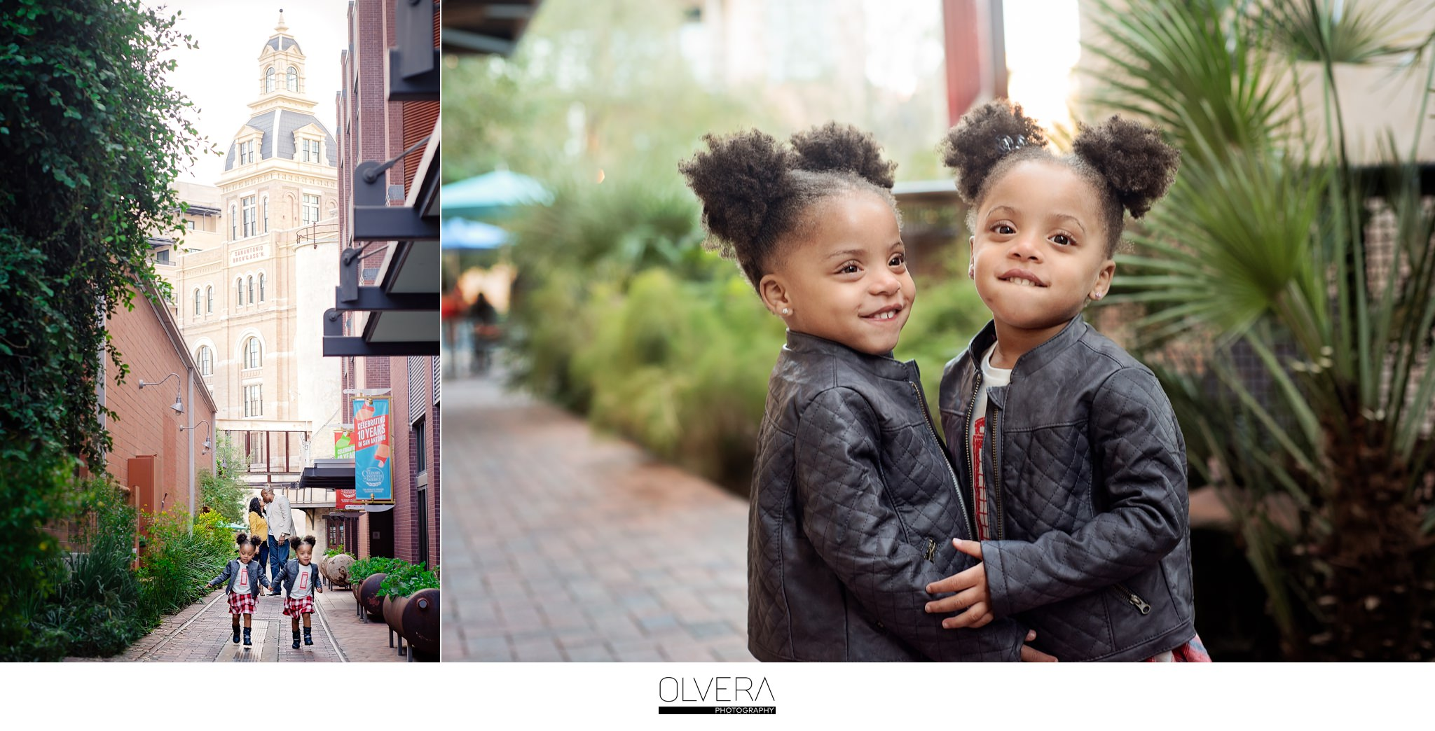 Pearl Brewery|San Antonio, TX|Twin Family Portraits