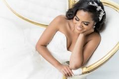 San Antonio Elegant Studio Bridal Portraits