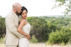 hill country bride groom-wedding photo