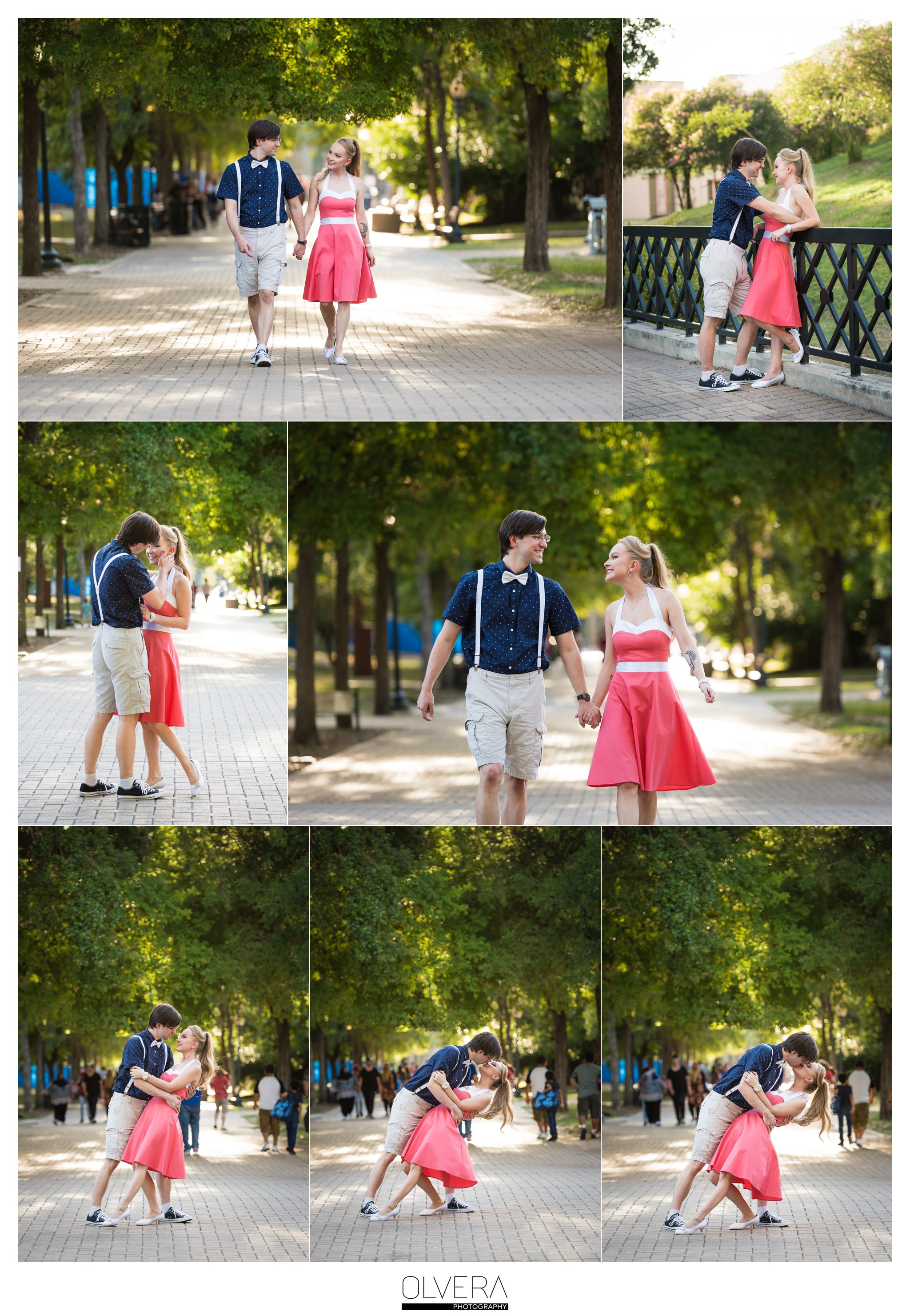 Engagement Portraits_Hemisfair Plaza_San Antonio_TX_Wedding Photographer 2