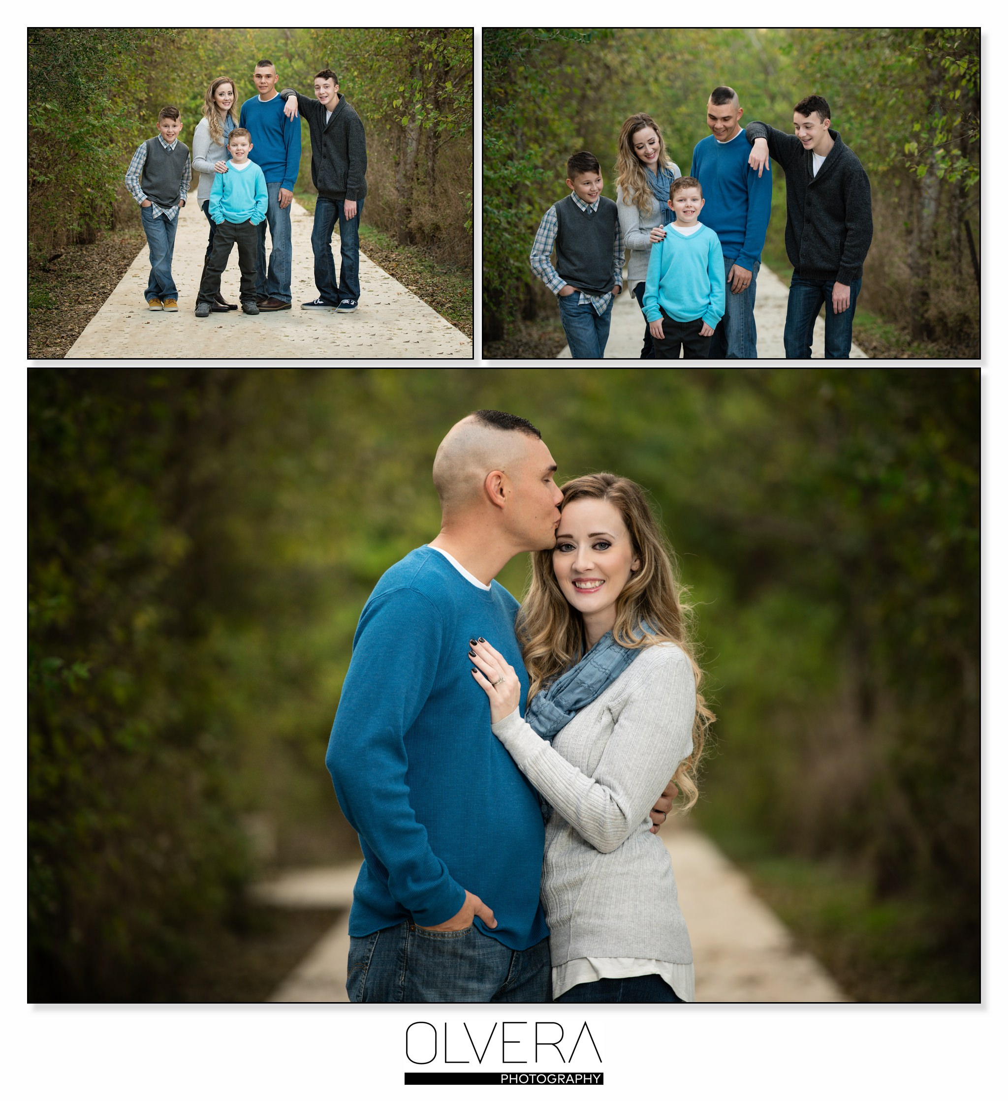 San Antonio Family Photographer: San Antonio Holiday Family Portraits