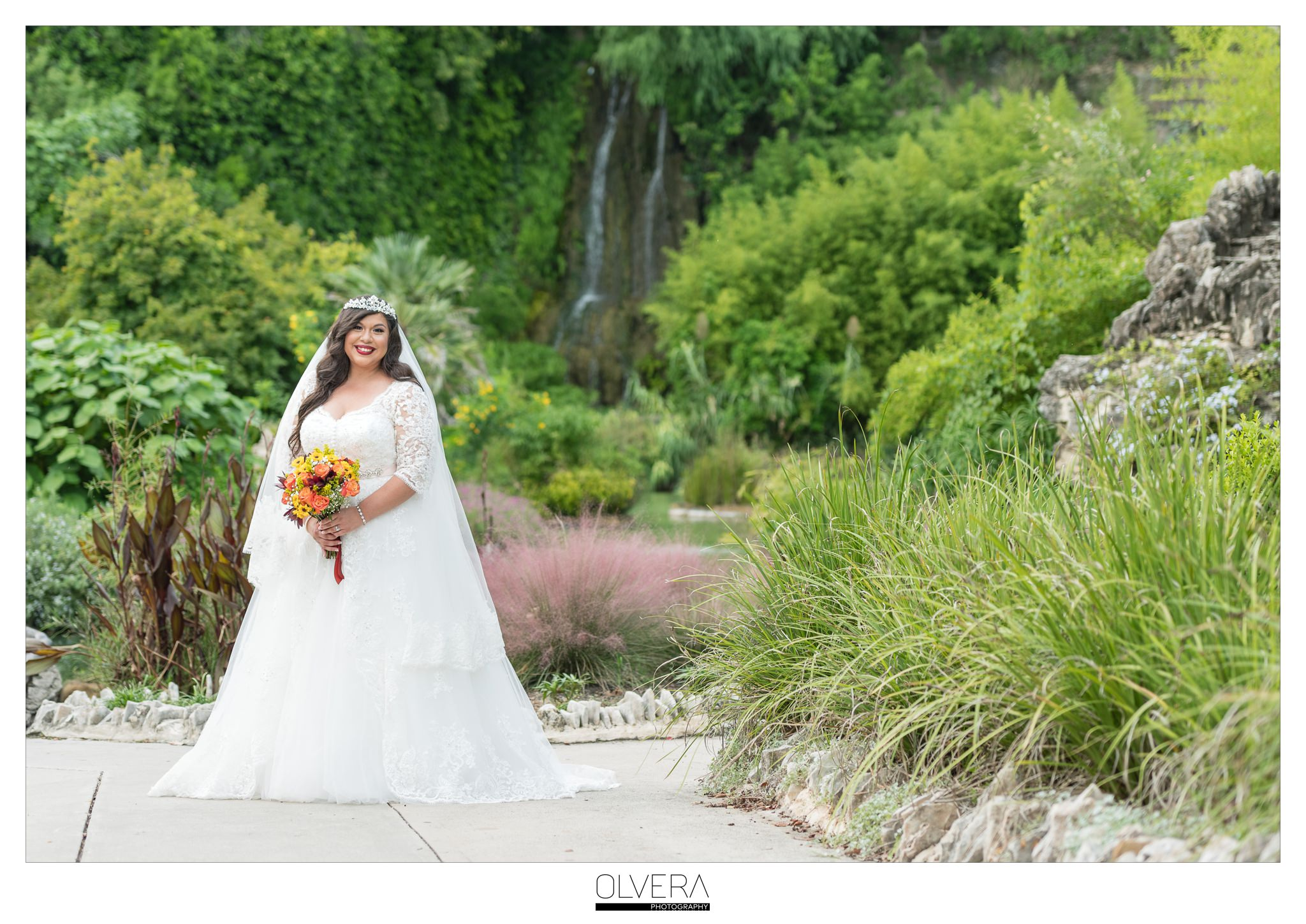 Bridal Portraits_Japanese Tea Garden_San Antonio TX Wedding Photographer