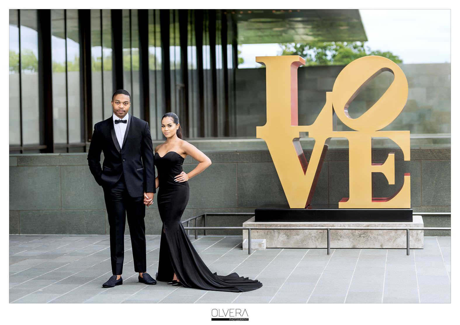 Glam Engagement Portraits at McNay Museum_San Antonio,TX 1