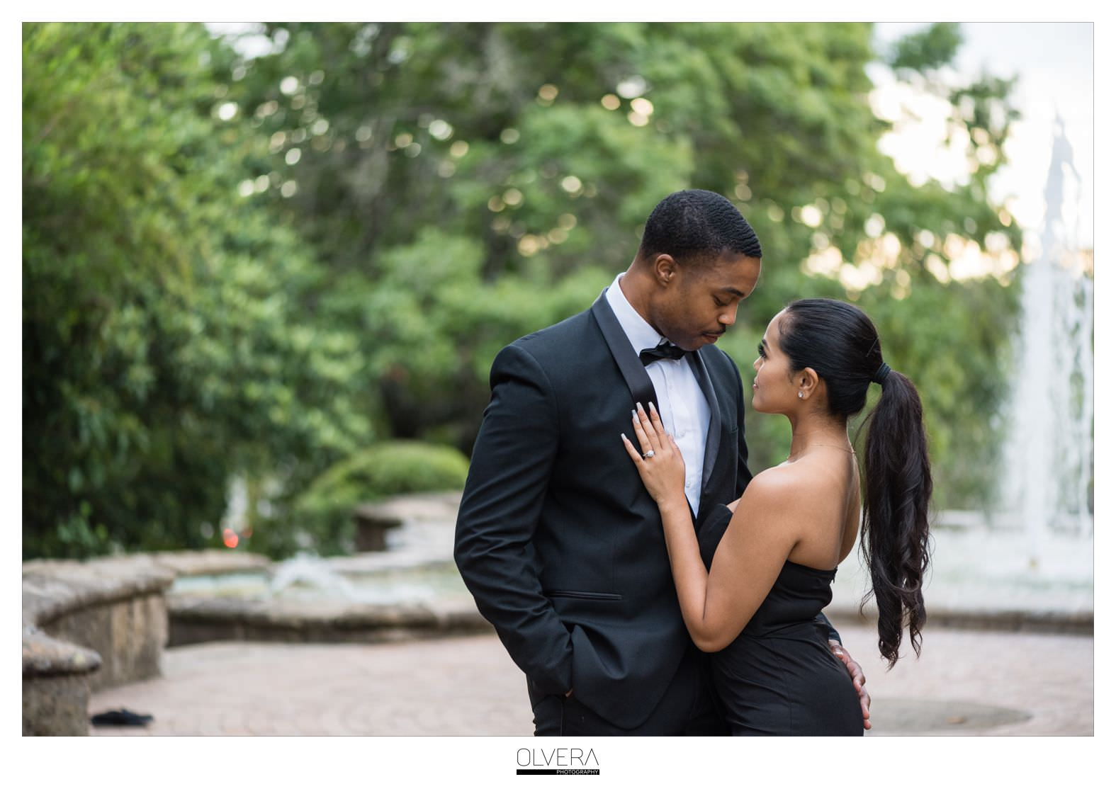Glam Engagement Portraits at McNay Museum_San Antonio,TX 10