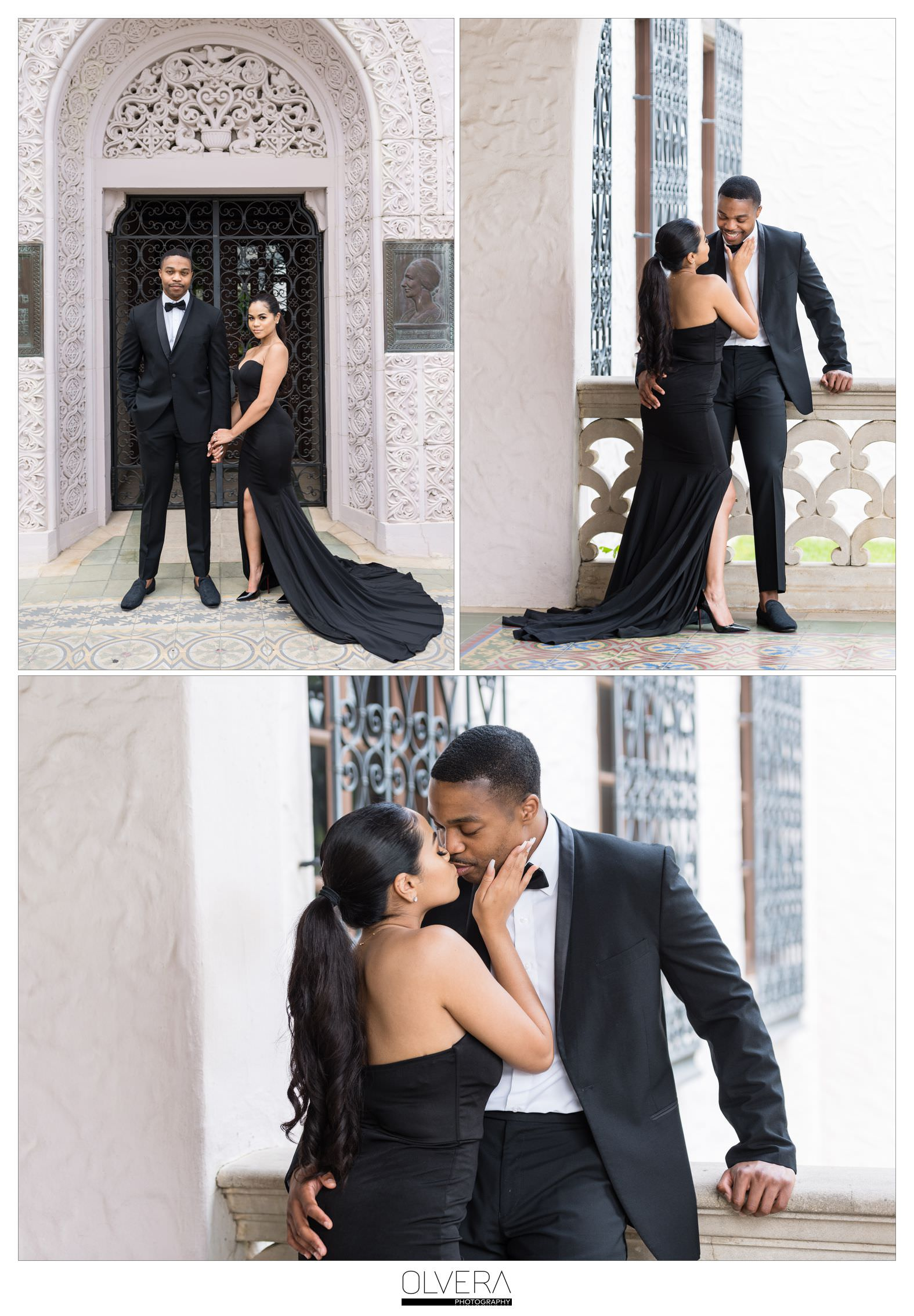 Glam Engagement Portraits at McNay Museum_San Antonio,TX 4