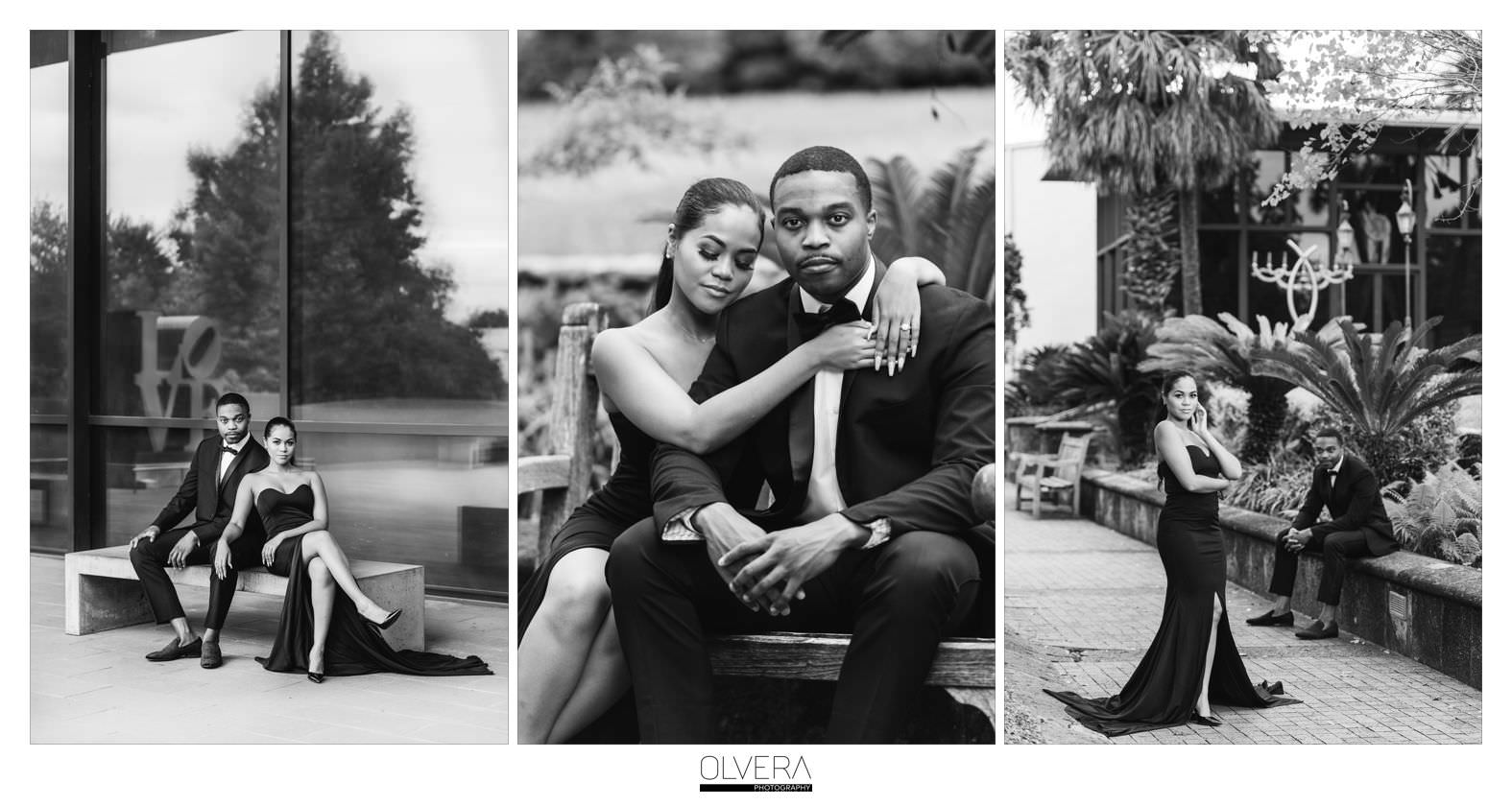 Glam Engagement Portraits at McNay Museum_San Antonio,TX 6
