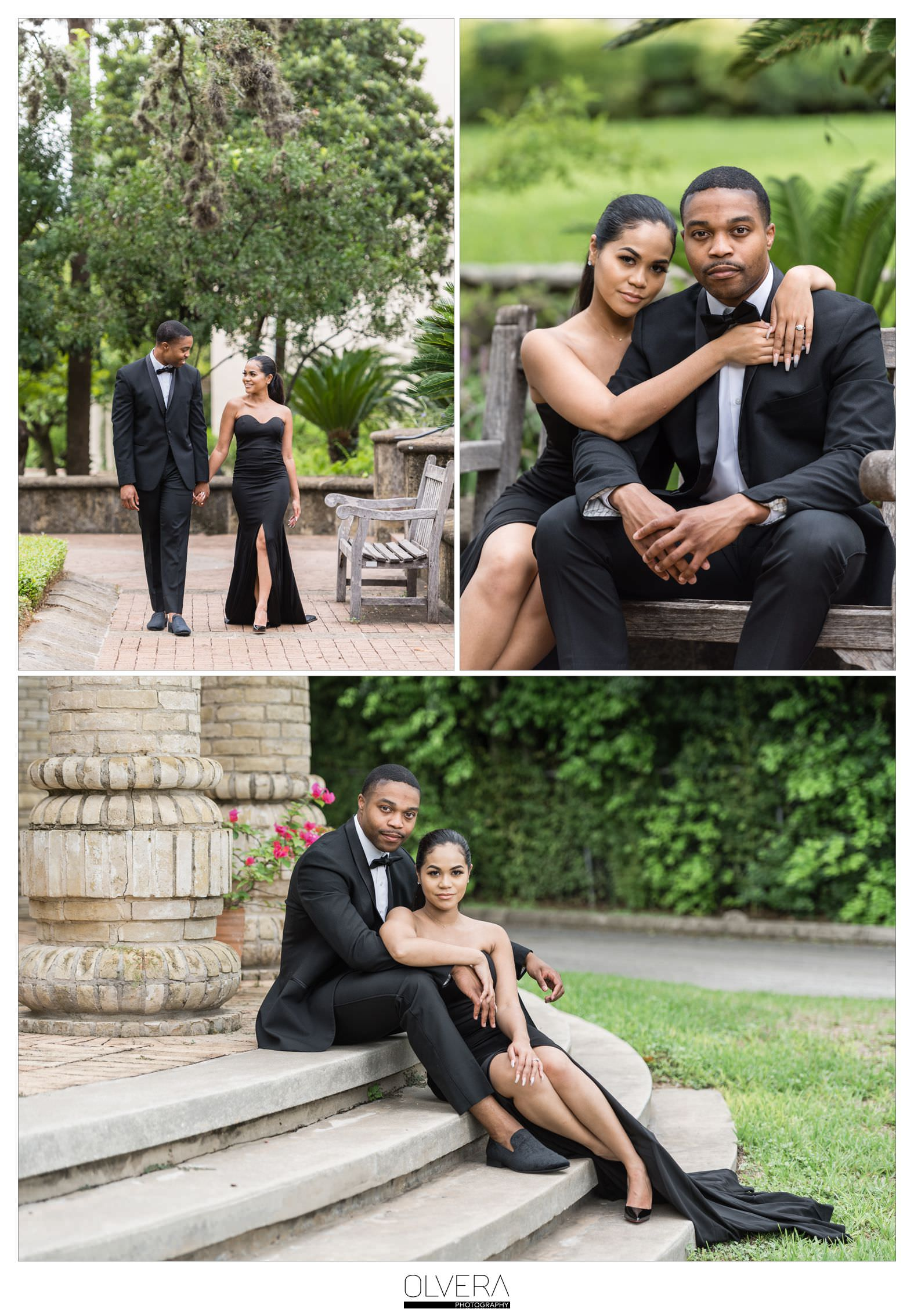 Glam Engagement Portraits at McNay Museum_San Antonio,TX 7