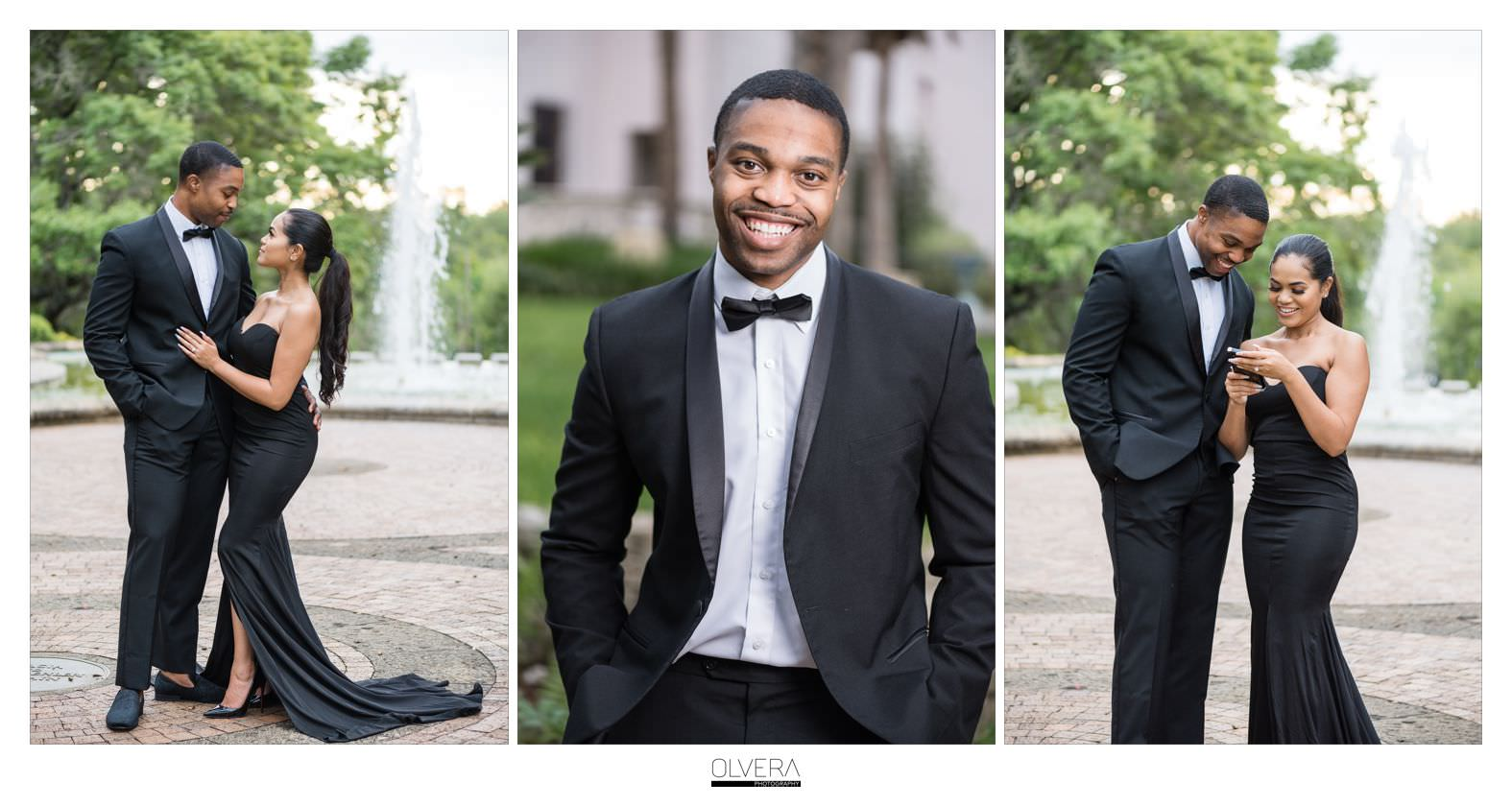 Glam Engagement Portraits at McNay Museum_San Antonio,TX 9