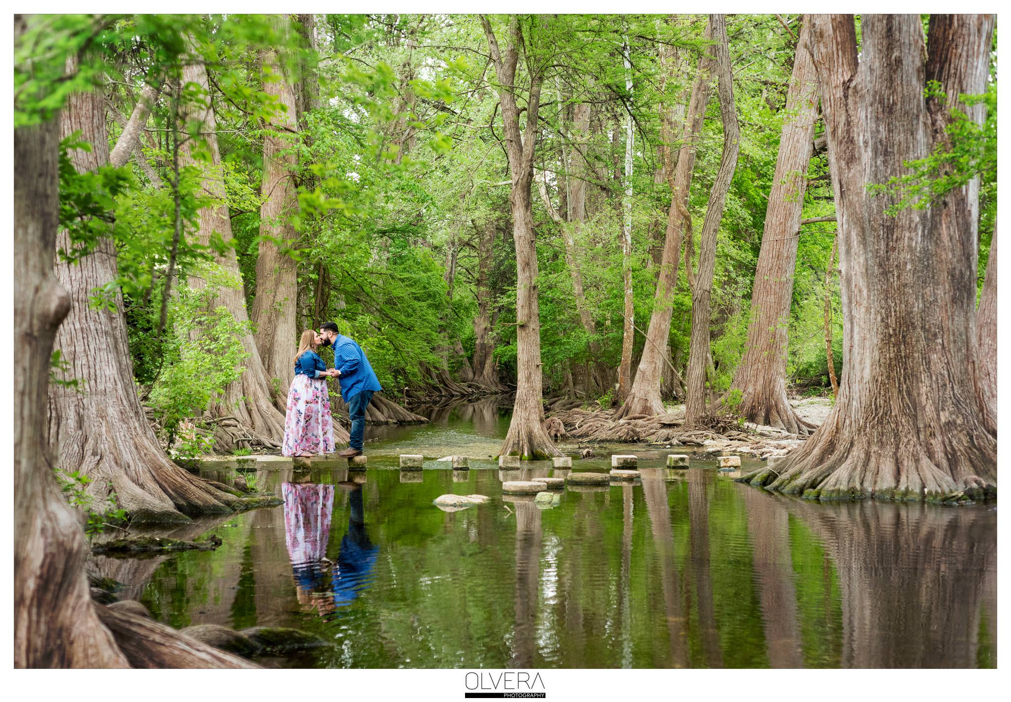 San Antonio Engagement Portraits_Cibolo Nature Center