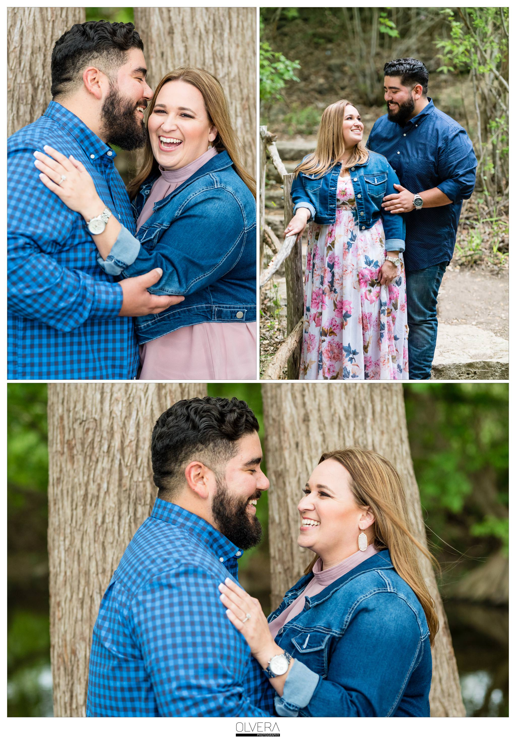 San Antonio Engagement Portraits_outdoors cibolo nature center