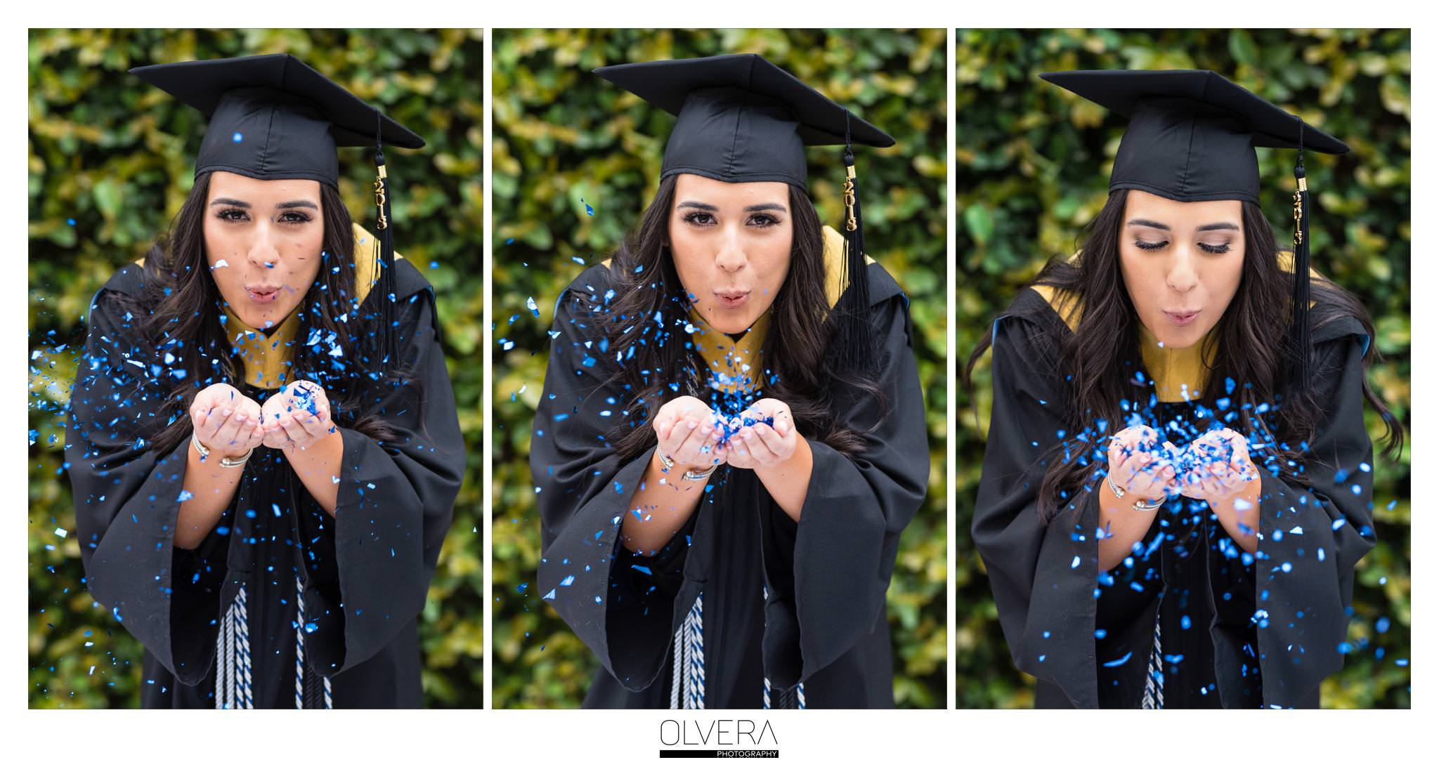 OLLU_Blowing glitter-Senior Portraits_San Antonio-tx-photographer