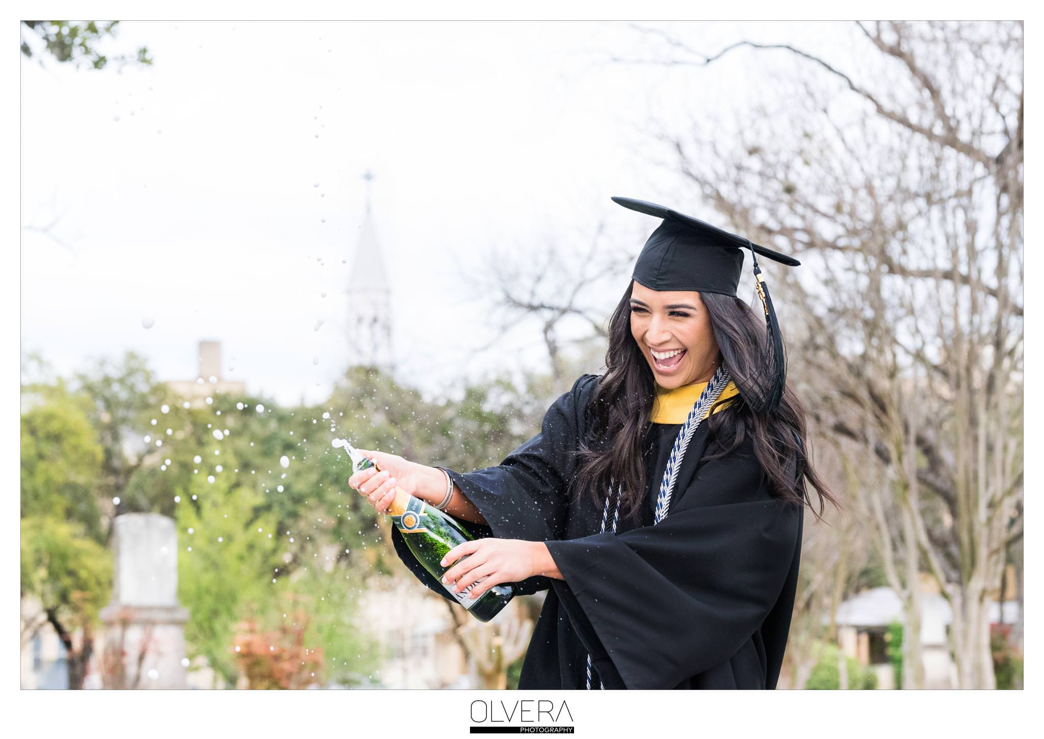 Our Lady of the Lake University_Senior Portraits_San Antonio-tx -champagne