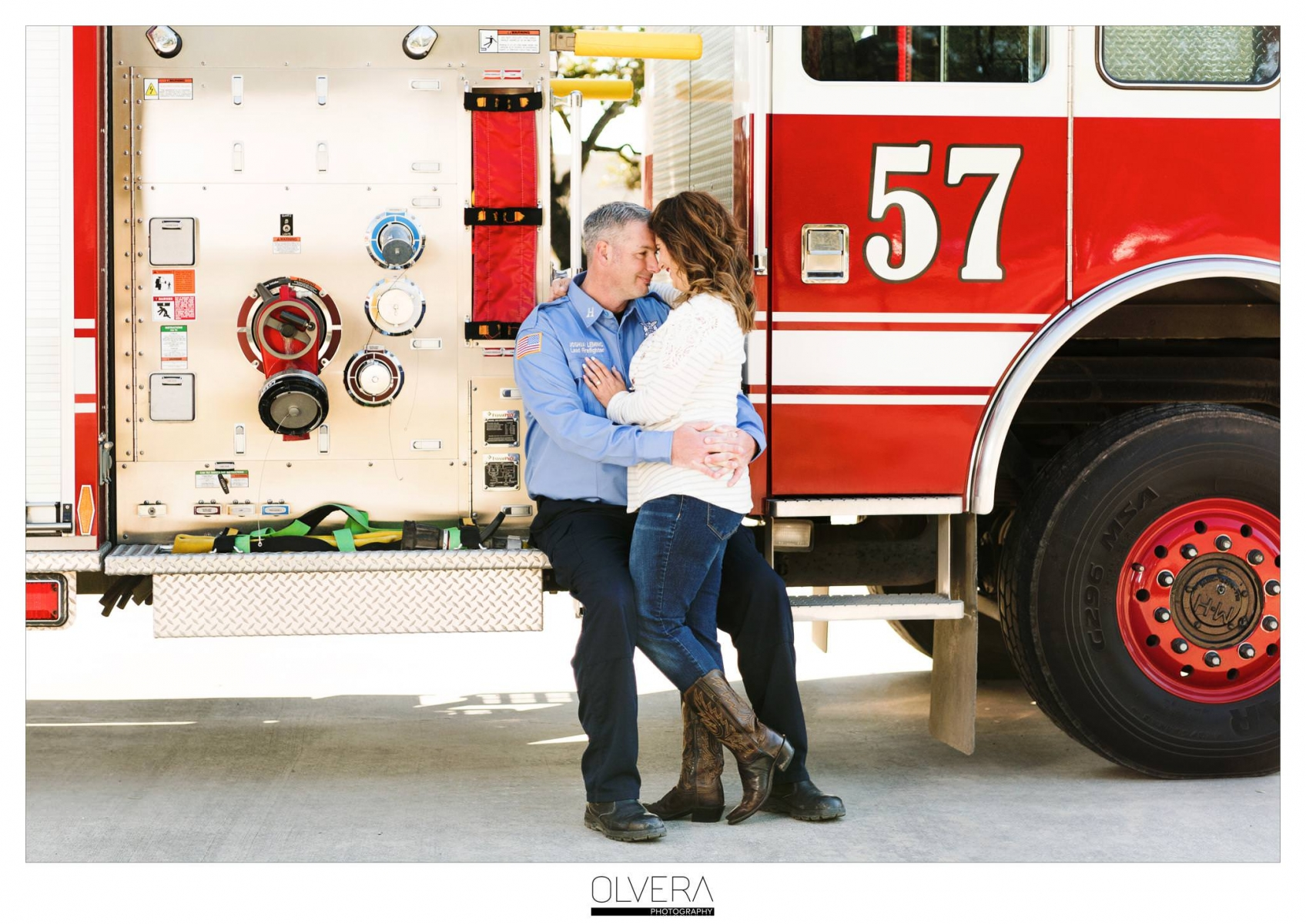 Shauna+Josh|Firefighter Engagement Session|San Antonio Wedding Photographer