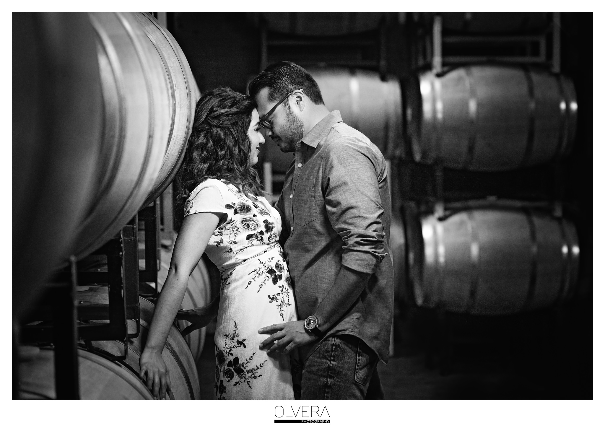 Romantic Vineyard Engagement Portraits| San Antonio, TX.