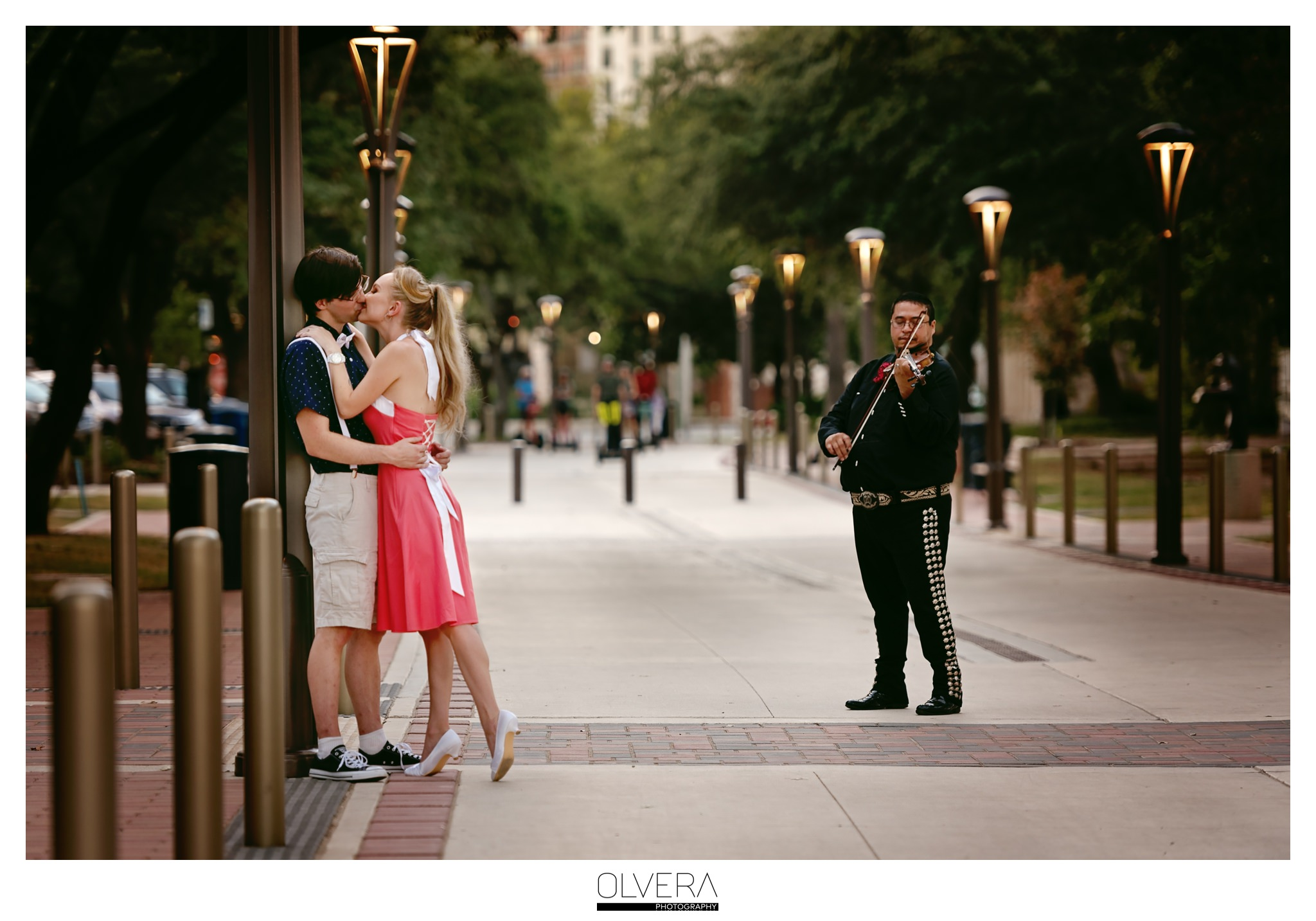 Engagement Portraits | Hemisfair Park | San Antonio, TX.