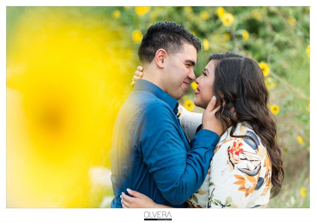 An Engagement Session at Hemisfair Park and Yanaguana Garden