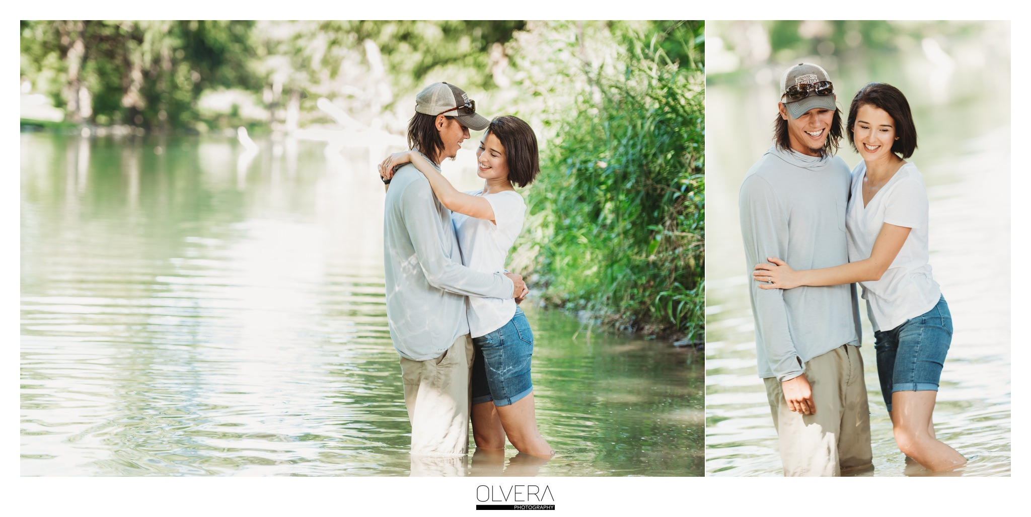 Guadalupe River | Engagement Portraits | New Braunfels, TX.