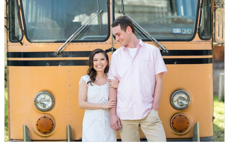 They met on the school bus in 7th Grade, 10 years later they are getting Married!