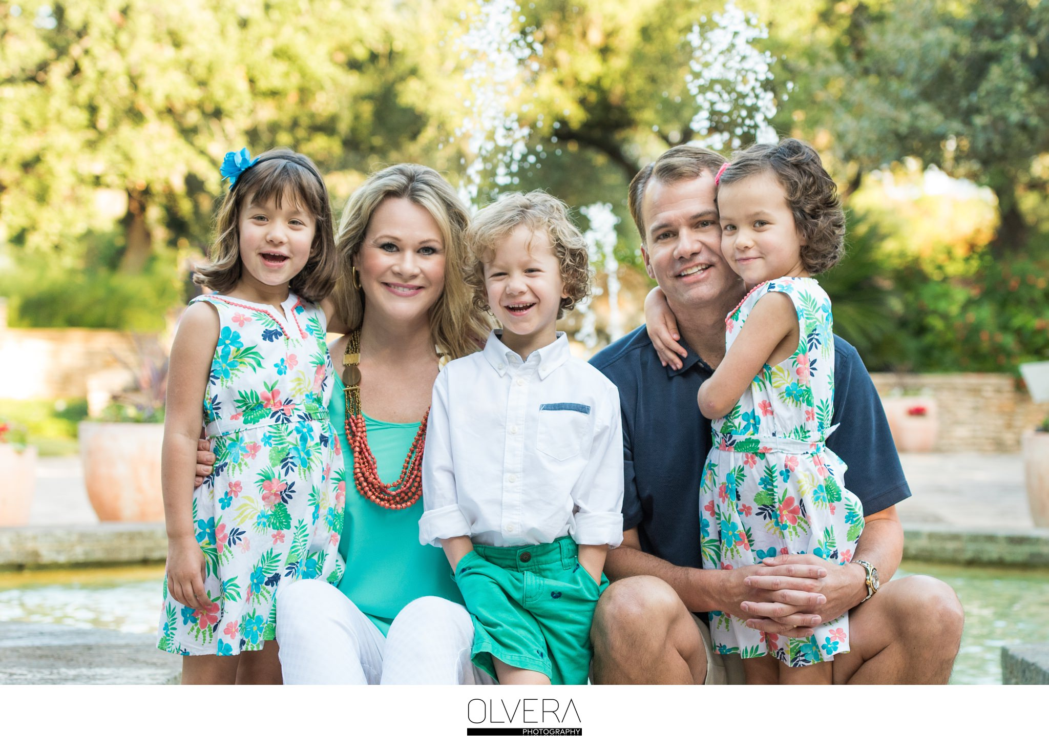 Family Portraits | San Antonio Botanical Gardens